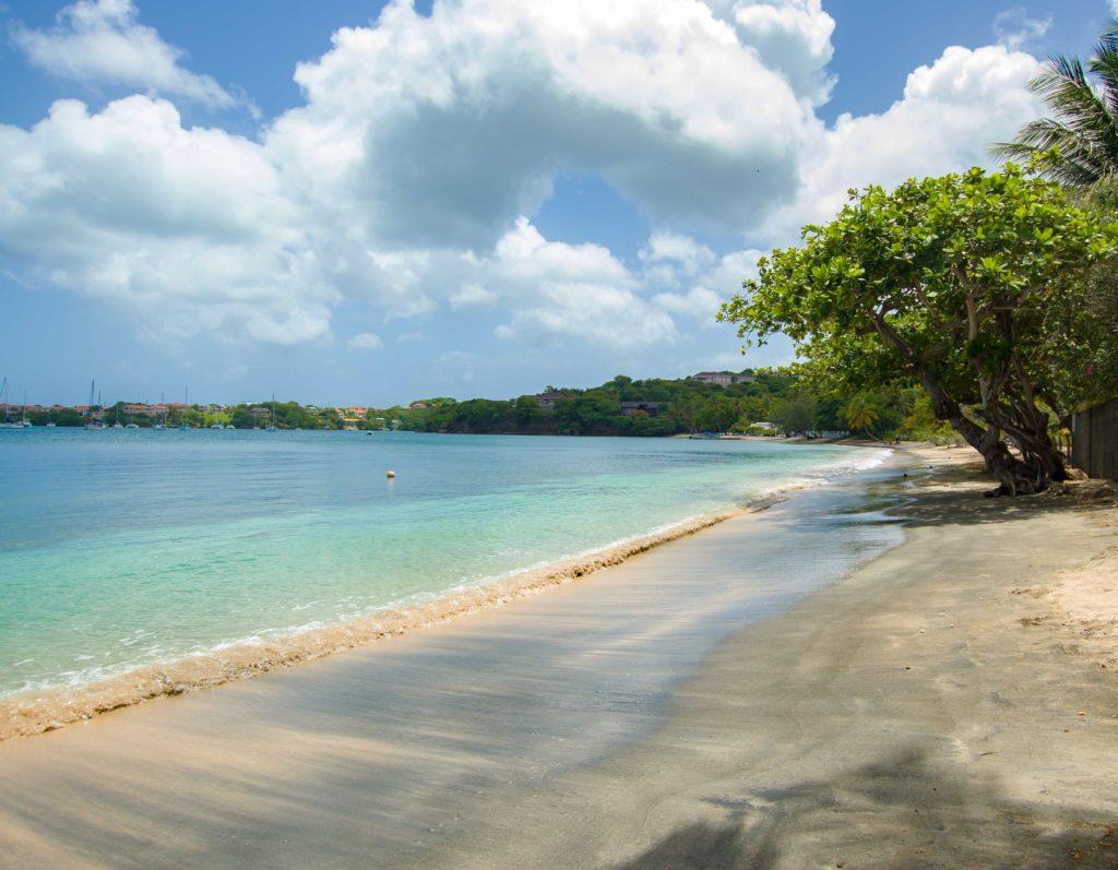 Nearby Lance Aux Epines Beach